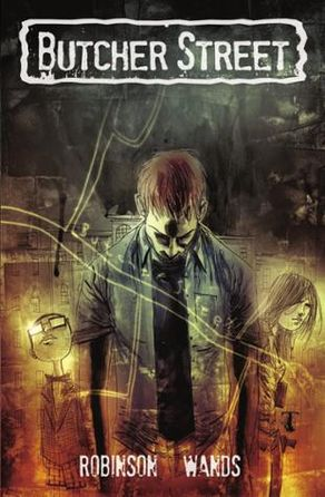 Arcana Comics | Butcher Street Graphic Novel | Spinwhiz Comics
