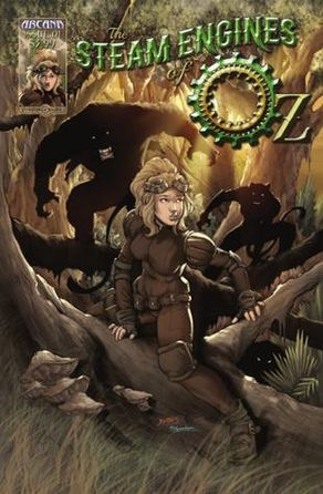 Arcana Comics | The Steam Engines of Oz #1 | Spinwhiz Comics