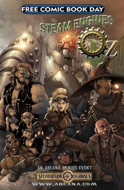 Arcana Comics | The Steam Engines of Oz | Spinwhiz Comics