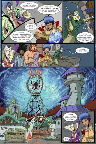 Battlements | Homecoming #113 | Spinwhiz Comics