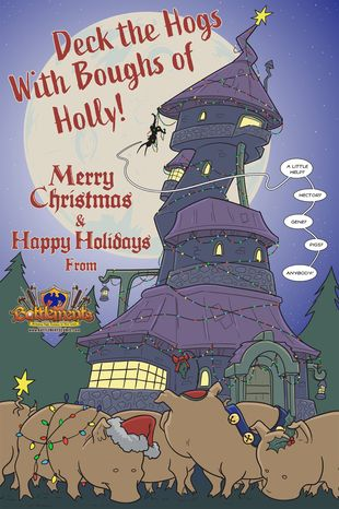 Battlements | Happy Holidays! #136 | Spinwhiz Comics