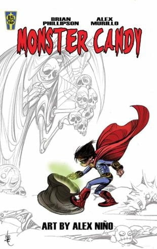 Bliss on Tap | Monster Candy Graphic Novel | Spinwhiz Comics