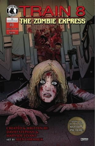 Bliss on Tap | Train 8: The Zombie Express #1 | Spinwhiz Comics