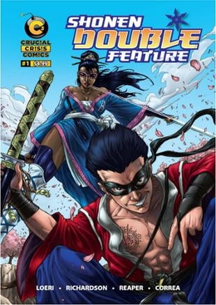 C3 Comics | Shonen Double Feature  | Spinwhiz Comics
