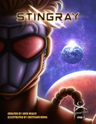 Cutthroat Comics | Stingray #1 | Spinwhiz Comics