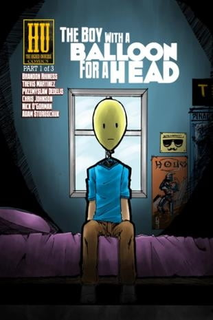 Higher Universe Comics | The Boy with a Balloon for a Head | Spinwhiz Comics