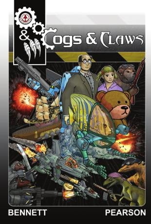 Markosia | Cogs and Claws Graphic Novel | Spinwhiz Comics