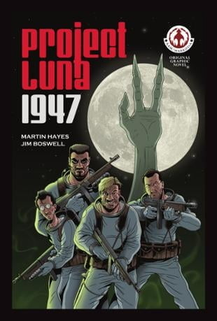 Markosia | Project Luna: 1947 Graphic Novel | Spinwhiz Comics