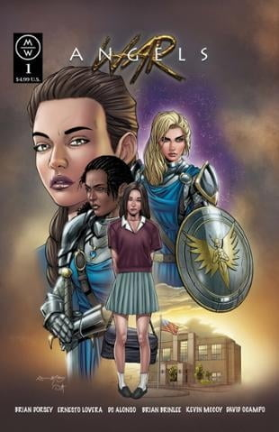 MWP Comics | War Angels #1 | Spinwhiz Comics