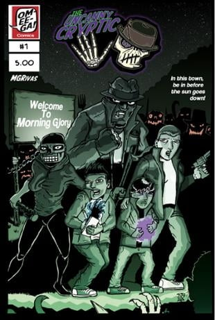 Omeega Comics | Uncanny Cryptic 5- Welcome to Morning Glory #1 | Spinwhiz Comics