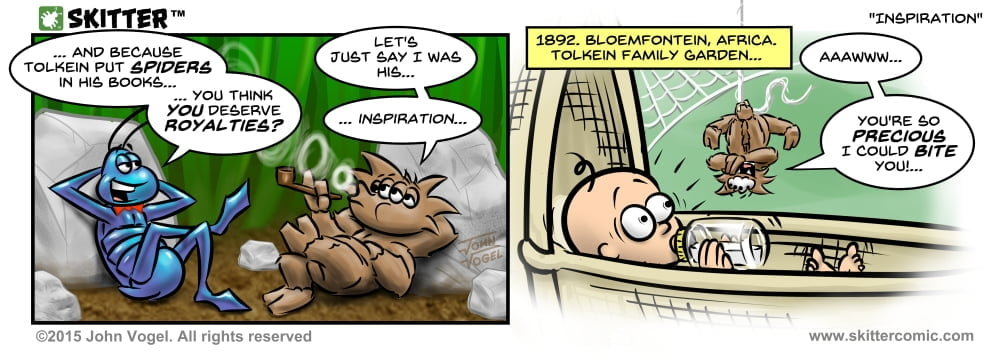 Skitter Comic | Baby Tolkein #16 | Spinwhiz Comics