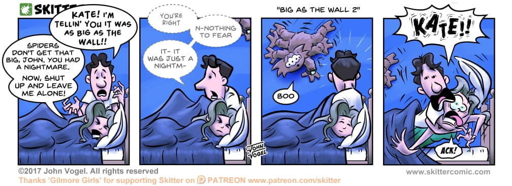 Skitter Comic | Big As The Wall 2 #199 | Spinwhiz Comics