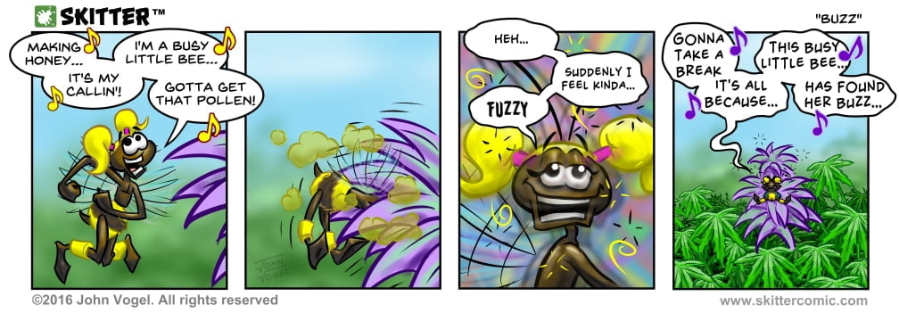 Skitter Comic | Buzz #104 | Spinwhiz Comics