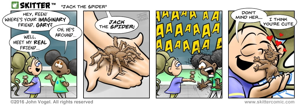 Skitter Comic | Jack The Spider #85 | Spinwhiz Comics
