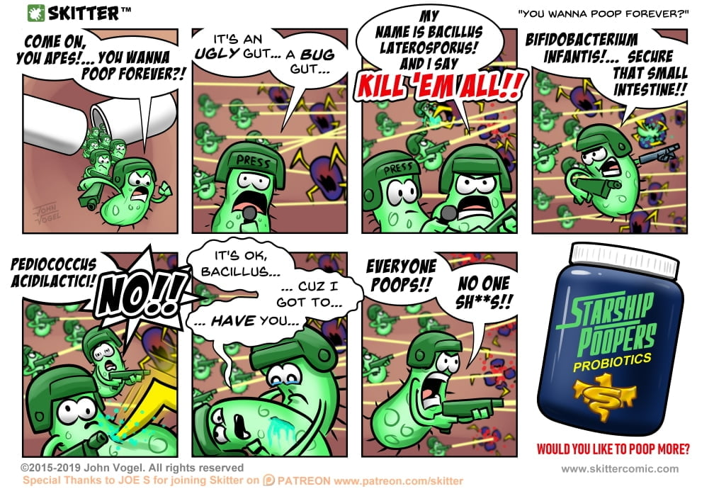 Skitter Comic | You Wanna Poop Forever? #403 | Spinwhiz Comics