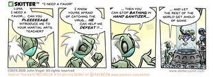 Skitter Comic | A Favor To Ask #519 | Spinwhiz Comics