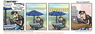 Skitter Comic | Hello, Summer! #533 | Spinwhiz Comics