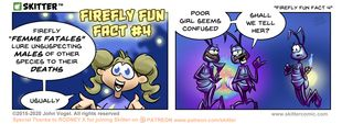 Skitter Comic | Firefly Fun Fact 4 #541 | Spinwhiz Comics