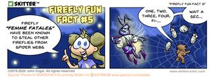Skitter Comic | Firefly Fun Fact #5 #542 | Spinwhiz Comics