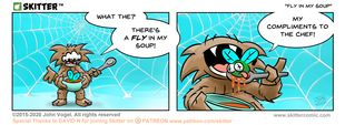 Skitter Comic | Fly In My Soup #571 | Spinwhiz Comics