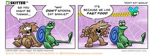 Skitter Comic | Don't Eat Snails #595 | Spinwhiz Comics