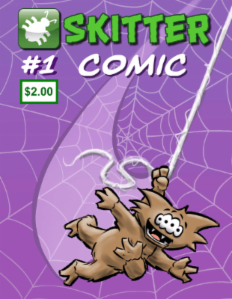 Skitter Comic | Skitter Comic #1 | Spinwhiz Comics
