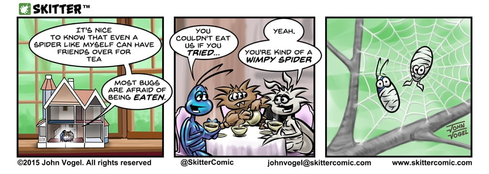 Skitter Comic | Tea Time #10 | Spinwhiz Comics