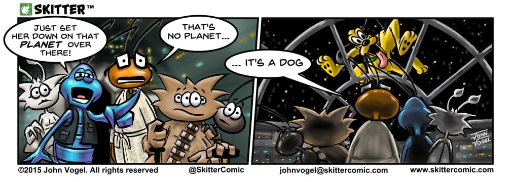 Skitter Comic | Thats No Planet #26 | Spinwhiz Comics