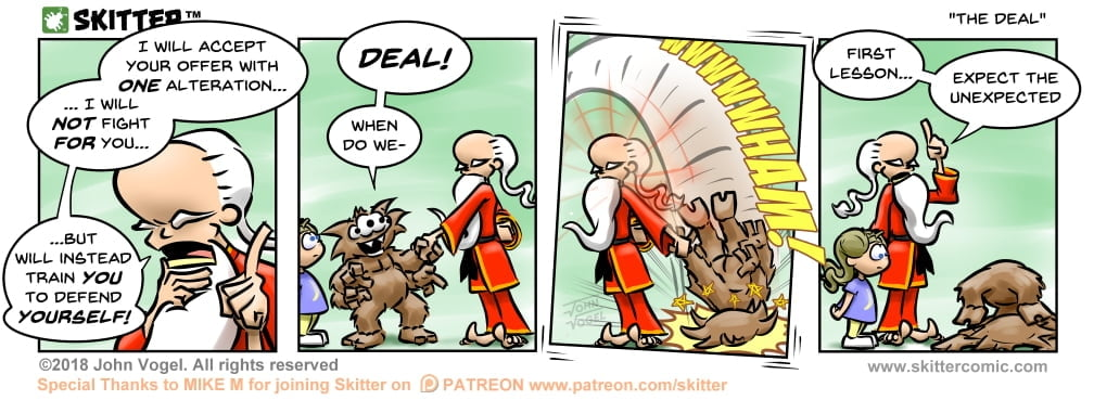 Skitter Comic | The Deal #298 | Spinwhiz Comics