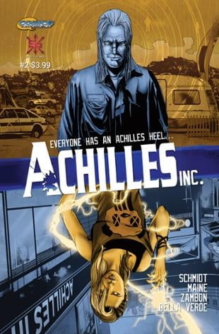 Source Point Press | Achilles, Inc #2 | Spinwhiz Comics