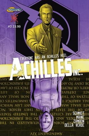 Source Point Press | Achilles, Inc #3 | Spinwhiz Comics