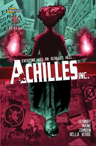 Source Point Press | Achilles, Inc | Spinwhiz Comics