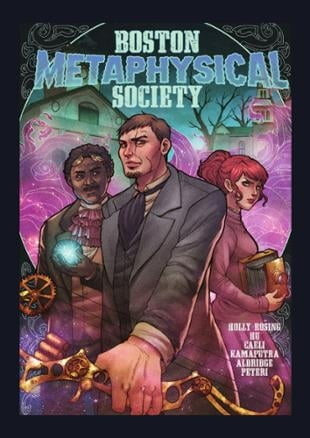 Source Point Press | Boston Metaphysical Society Graphic Novel | Spinwhiz Comics