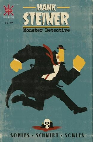 Source Point Press | Hank Steiner: Monster Detective | Spinwhiz Comics