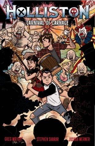 Source Point Press | Holliston: Carnival of Carnage #2 | Spinwhiz Comics