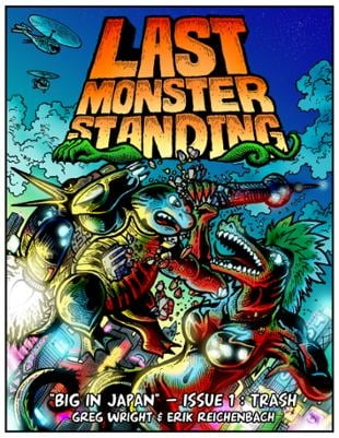 Source Point Press | Last Monster Standing | Spinwhiz Comics