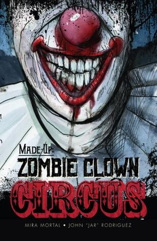 Source Point Press | Made Up Zombie Clown Circus #1 | Spinwhiz Comics