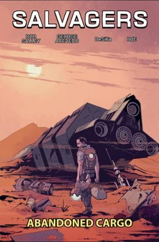 Source Point Press | Salvagers Volume 1: Abandoned Cargo | Spinwhiz Comics