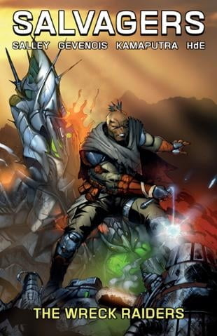 Source Point Press | Salvagers Volume 2: The Wrecked Raiders | Spinwhiz Comics