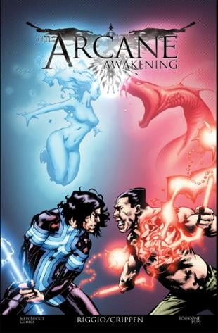 Source Point Press | The Arcane Awakening #1 | Spinwhiz Comics