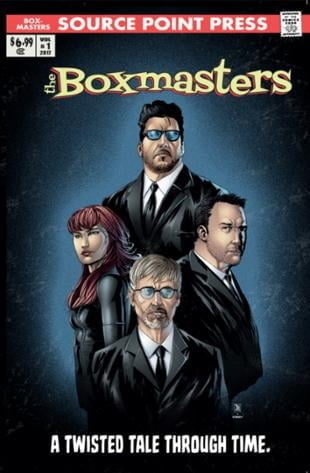 Source Point Press | The Boxmasters: A Twisted Tale Through Time Graphic Novel | Spinwhiz Comics