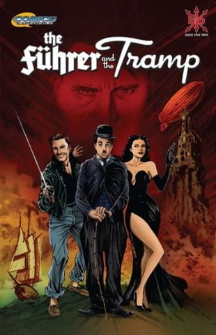 Source Point Press | The Führer and the Tramp | Spinwhiz Comics