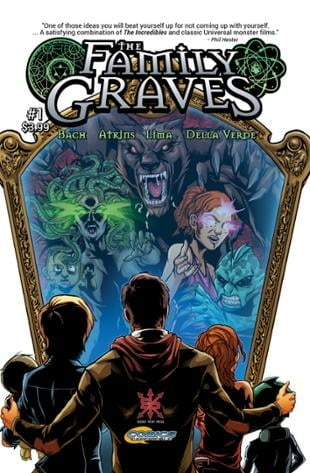 Source Point Press | The Family Graves #1 | Spinwhiz Comics