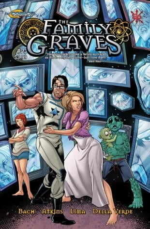 Source Point Press | The Family Graves #2 | Spinwhiz Comics