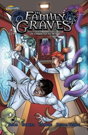 Source Point Press | The Family Graves #3 | Spinwhiz Comics