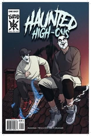Source Point Press | Twiztid: Haunted High Ons #1 | Spinwhiz Comics