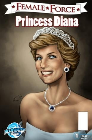 TidalWave | Female Force: Princess Diana #1 | Spinwhiz Comics